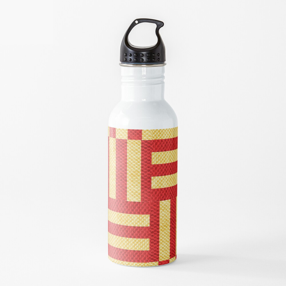 stripes pattern Water Bottle