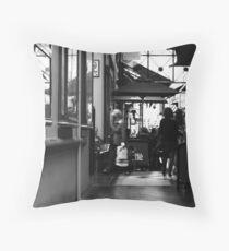 Cafe Duomo Throw Pillow