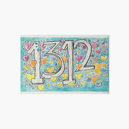 1312, with love! Art Board Print