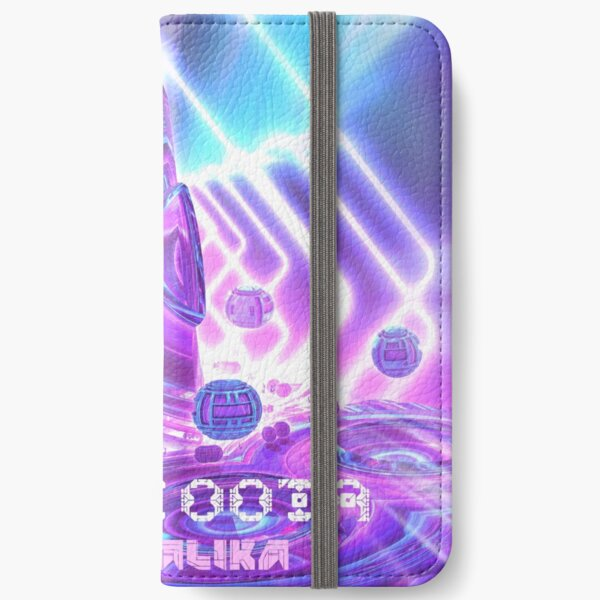 Fractalika EP Artwork and Merch by Spaced Painter iPhone Wallet