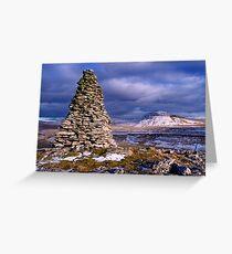 Ingleborough from Twisleton Scars - The Yorkshire Dales Greeting Card