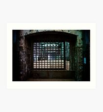 Caged Art Print