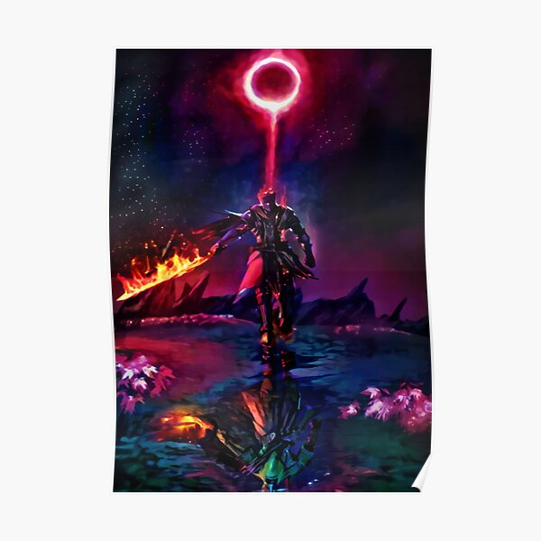Boss of the Ring en flammes Poster