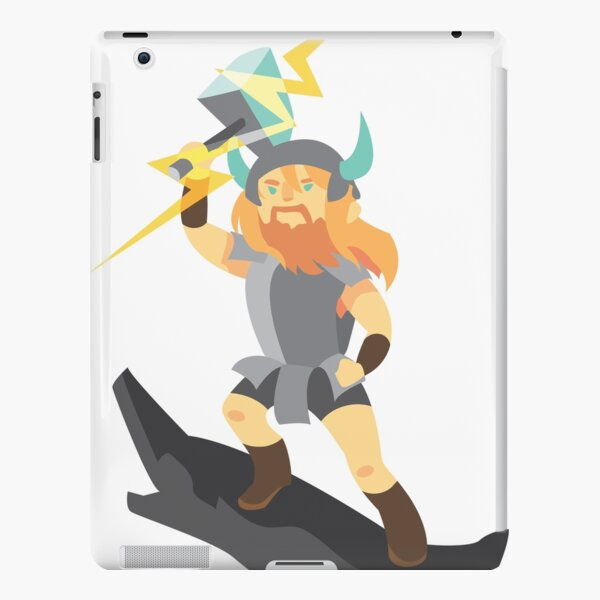 Thor, the cute god of thunder iPad Snap Case