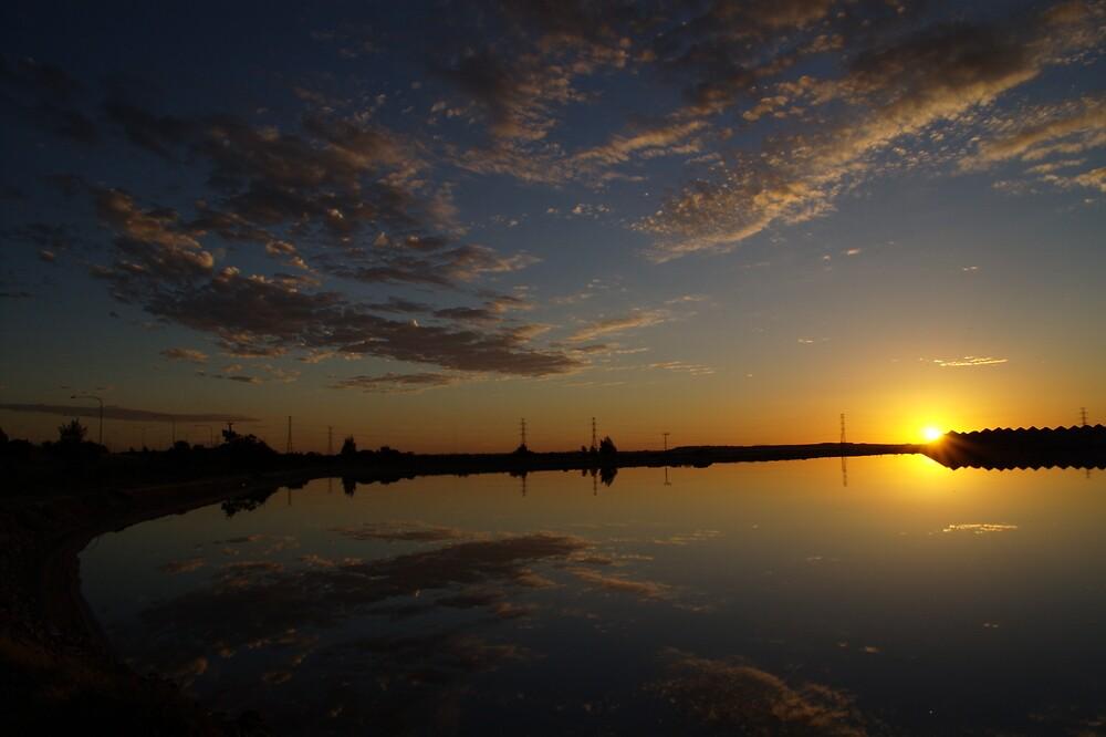 Saltpan Sunset by yeuxdechat