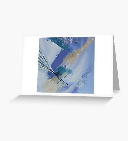 Abstract seascape No: 2 Greeting Card