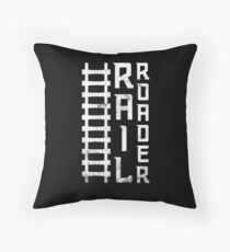 Railroad T-shirt & Gift Occupations Floor Pillow