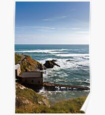 The Old Lifeboat Station Poster