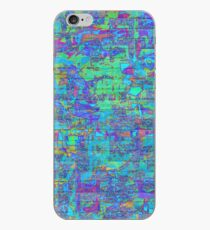 Abstract Graffiti Wall iPhone Case