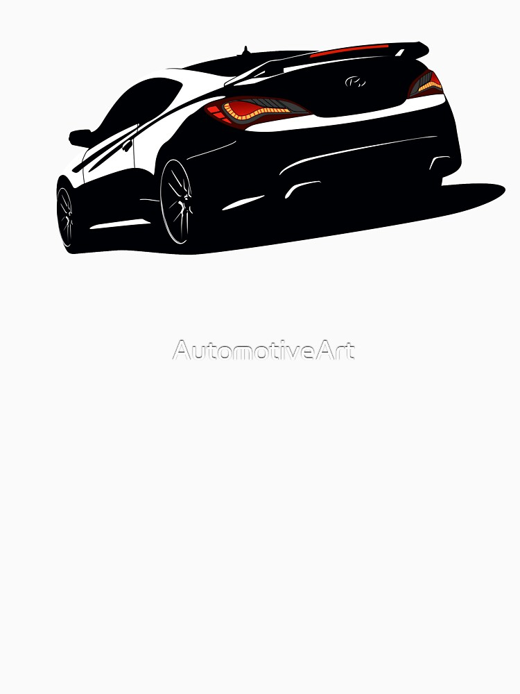 Genesis Coupe by AutomotiveArt