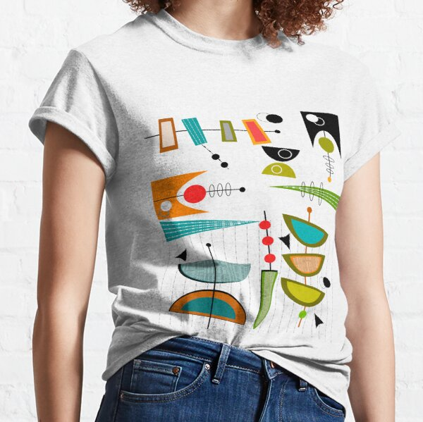 Mid-century Modern Abstract #55 Classic T-Shirt