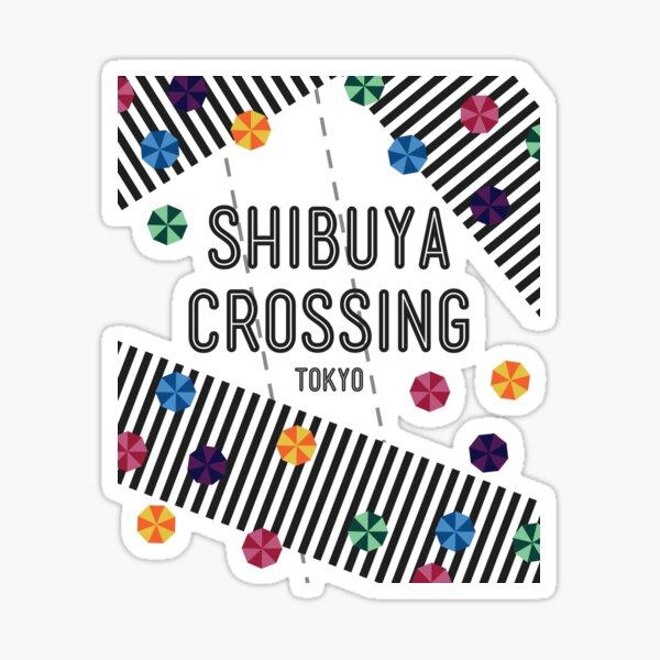 Shibuya Crossing - Tokyo, Japan Sticker