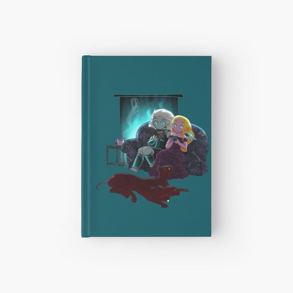 Cozy Winter Night Hardcover Journal