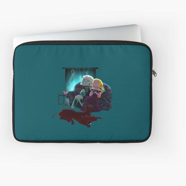 Cozy Winter Night Laptop Sleeve
