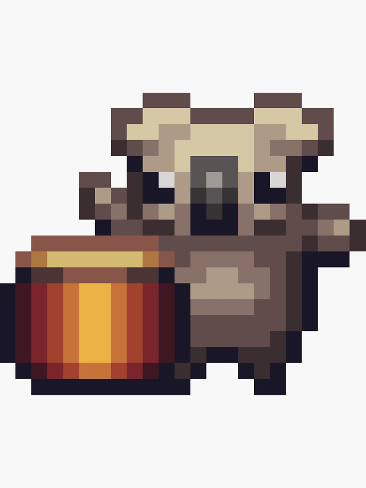 Koala Kids Drum - Pixel by Doomgriever