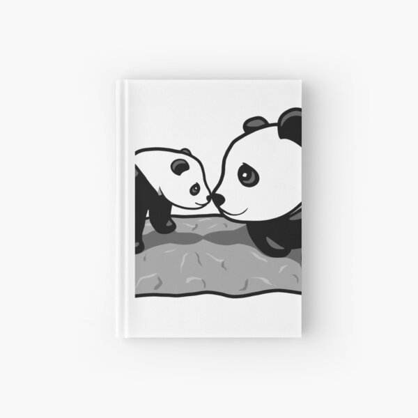 Panda Parent and Child 2 Hardcover Journal