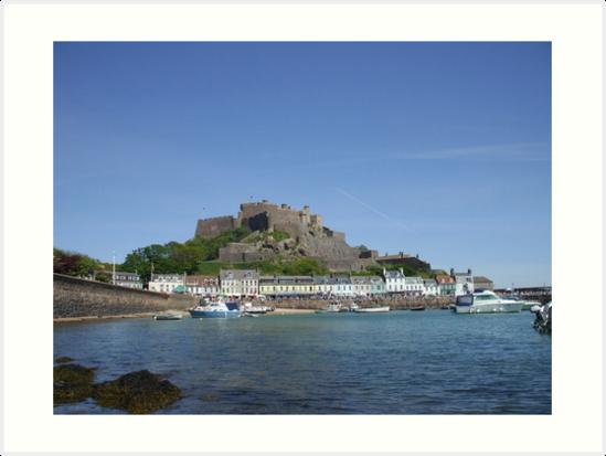 Jerseys' Gorey Castle by Pigglepum