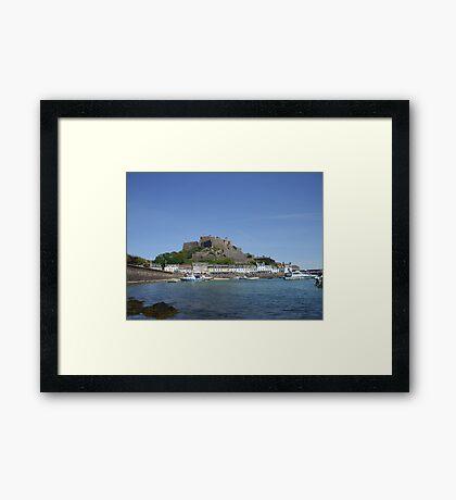 Jerseys' Gorey Castle Framed Print