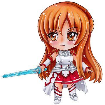 Sword Art Online Asuna Chibi1 by Dacdacgirl