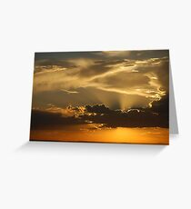 Brilliant Sky over ABQ Greeting Card