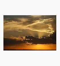 Brilliant Sky over ABQ Photographic Print