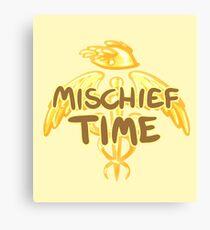 Mischief Time Canvas Print