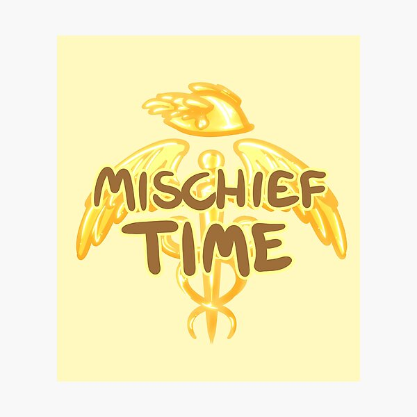 Mischief Time Photographic Print