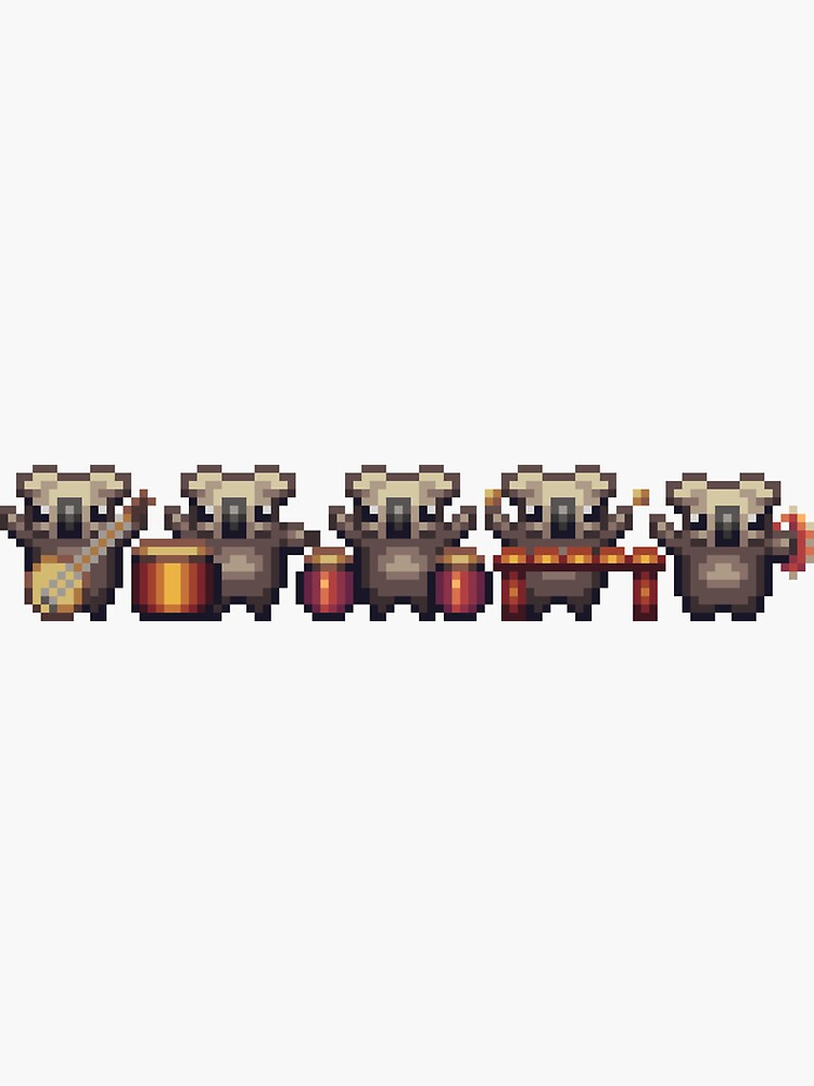 Koala Kids Band - Pixel by Doomgriever