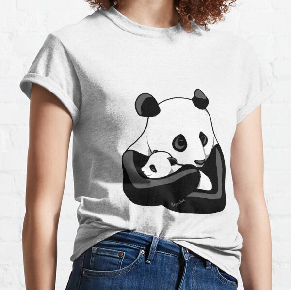 Panda Parent and Child 3 Classic T-Shirt
