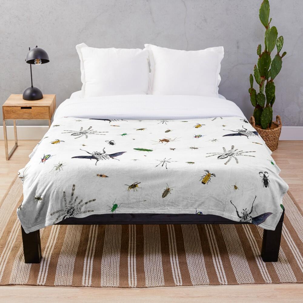 Entomologist's Dream Throw Blanket