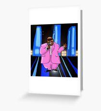 Cee-Lo Pink Greeting Card