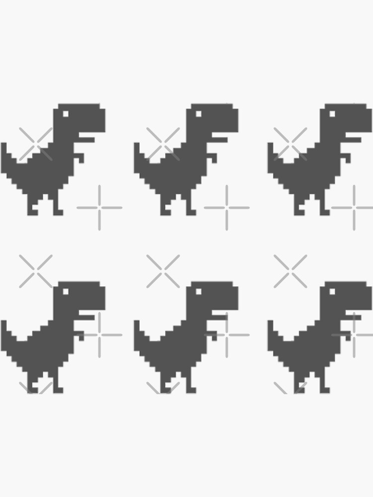 google chrome dino game (6) by cyphyurrr