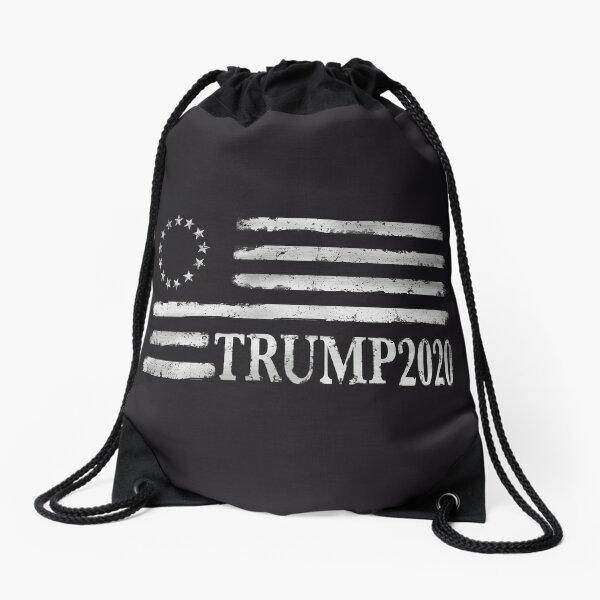 Drawstring Backpack Maga Flag