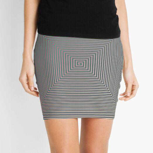 Puzzling World Mini Skirt