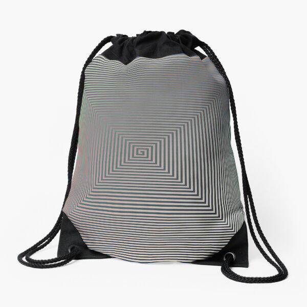 Puzzling World Drawstring Bag