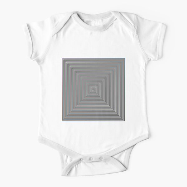 Puzzling World Short Sleeve Baby One-Piece
