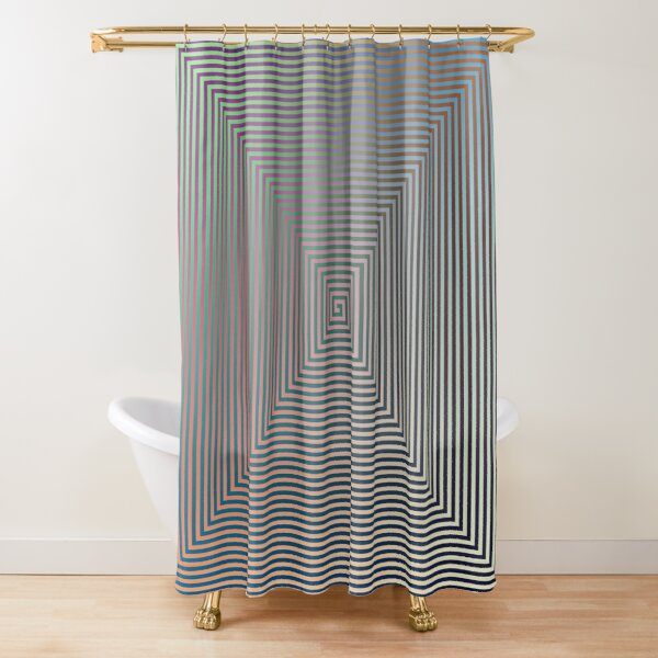 Puzzling World Shower Curtain