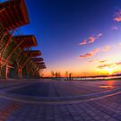 Olympic Oval Sunset by ClaytonPerry