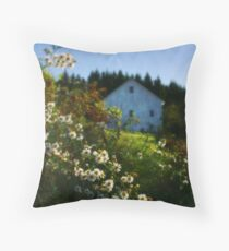 Lingering Wildflowers Throw Pillow