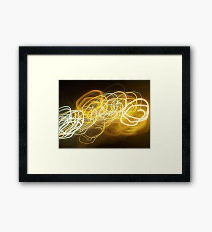 A little light fun Framed Print
