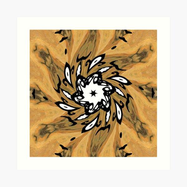 #Motif, #Visual #Arts, #Element, repeated, pattern, design, many times, work Art Print