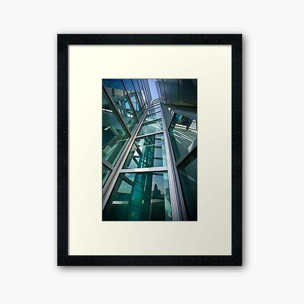 Converging Verticals Framed Art Print