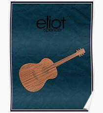 Eliot Spencer (Leverage) minimalist poster Poster