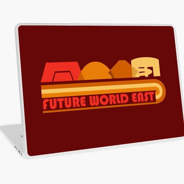 Future World East Laptop Skin