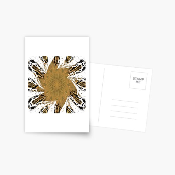 #Motif, #Visual #Arts, #Element, repeated, pattern, design, many times, work Postcard