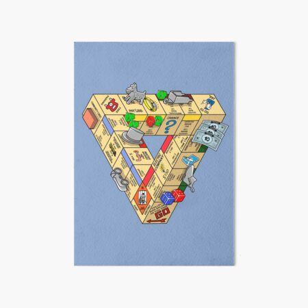 The Impossible Board Game Art Board Print