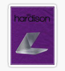 Alec Hardison (Leverage) minimalist poster Sticker