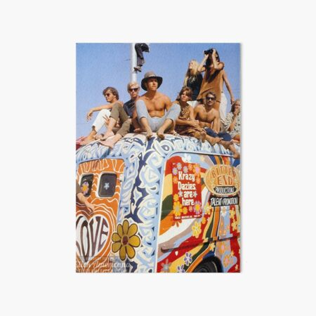 Woodstock Van        Art Board Print