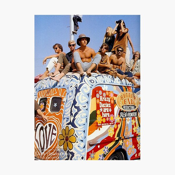 Woodstock Van        Photographic Print