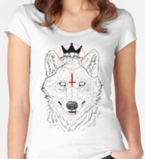 The Wolf King Women's Fitted Scoop T-Shirt